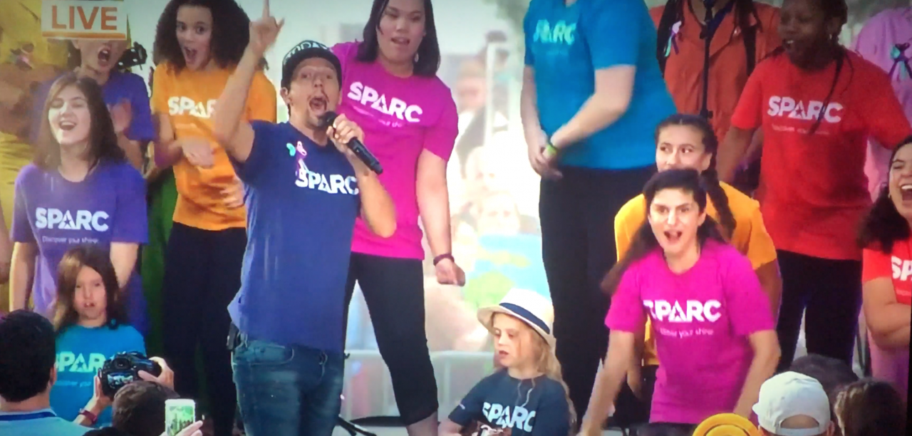 Fable client SPARC performs on national TV with Grammy-winning artist Jason Mraz